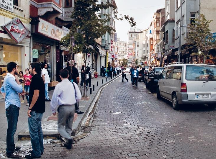 Istanbul streets: Ali Taptık