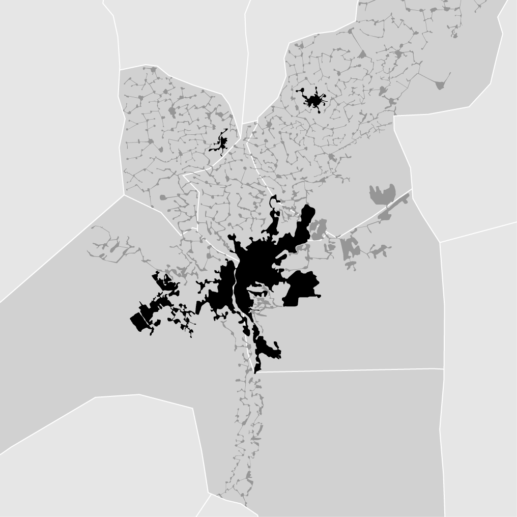 Cairo, Egypt - density map