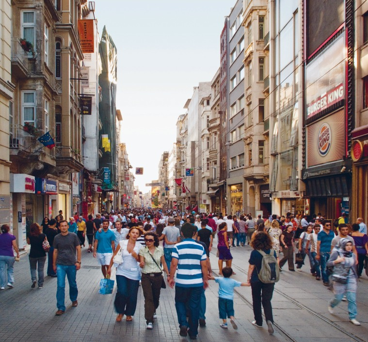 Istiklal Avenue, Istanbul: Ali Taptık
