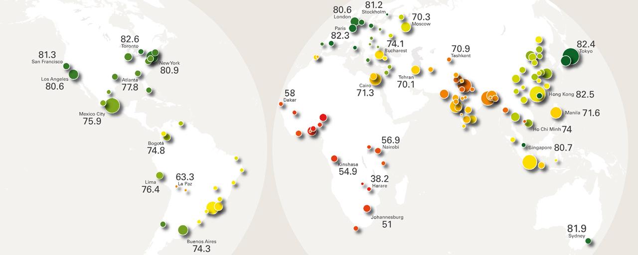 3 metropolitan health worldmap
