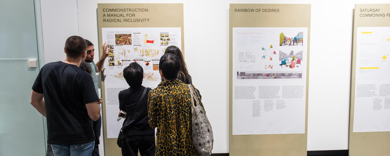Designing Urban Commons Exhibition launch