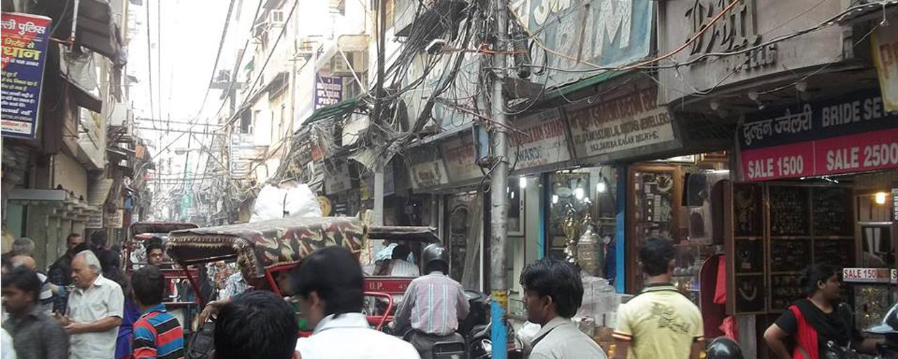 Delhi_street view