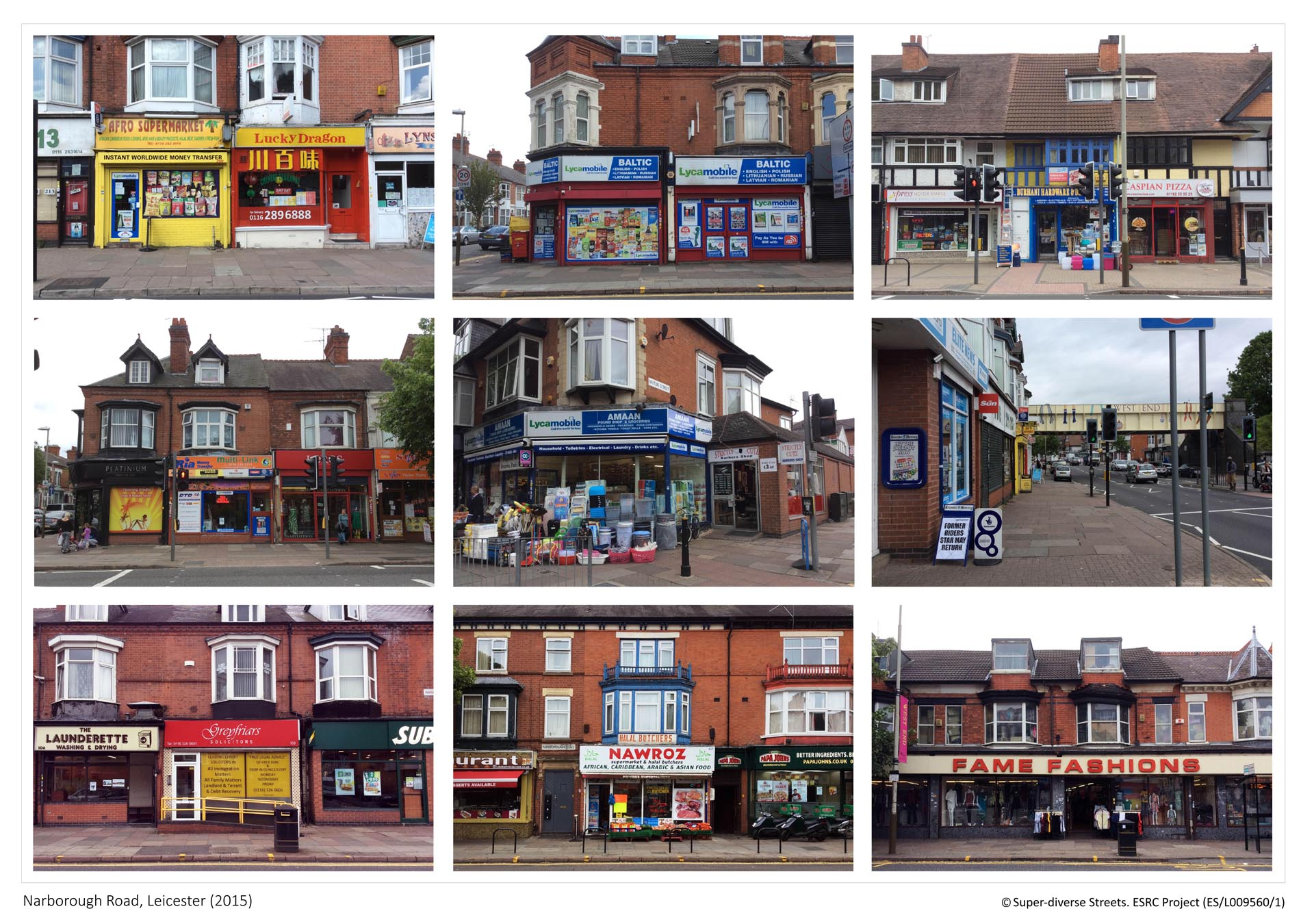 Narborough Road, Leicester - Streetscape