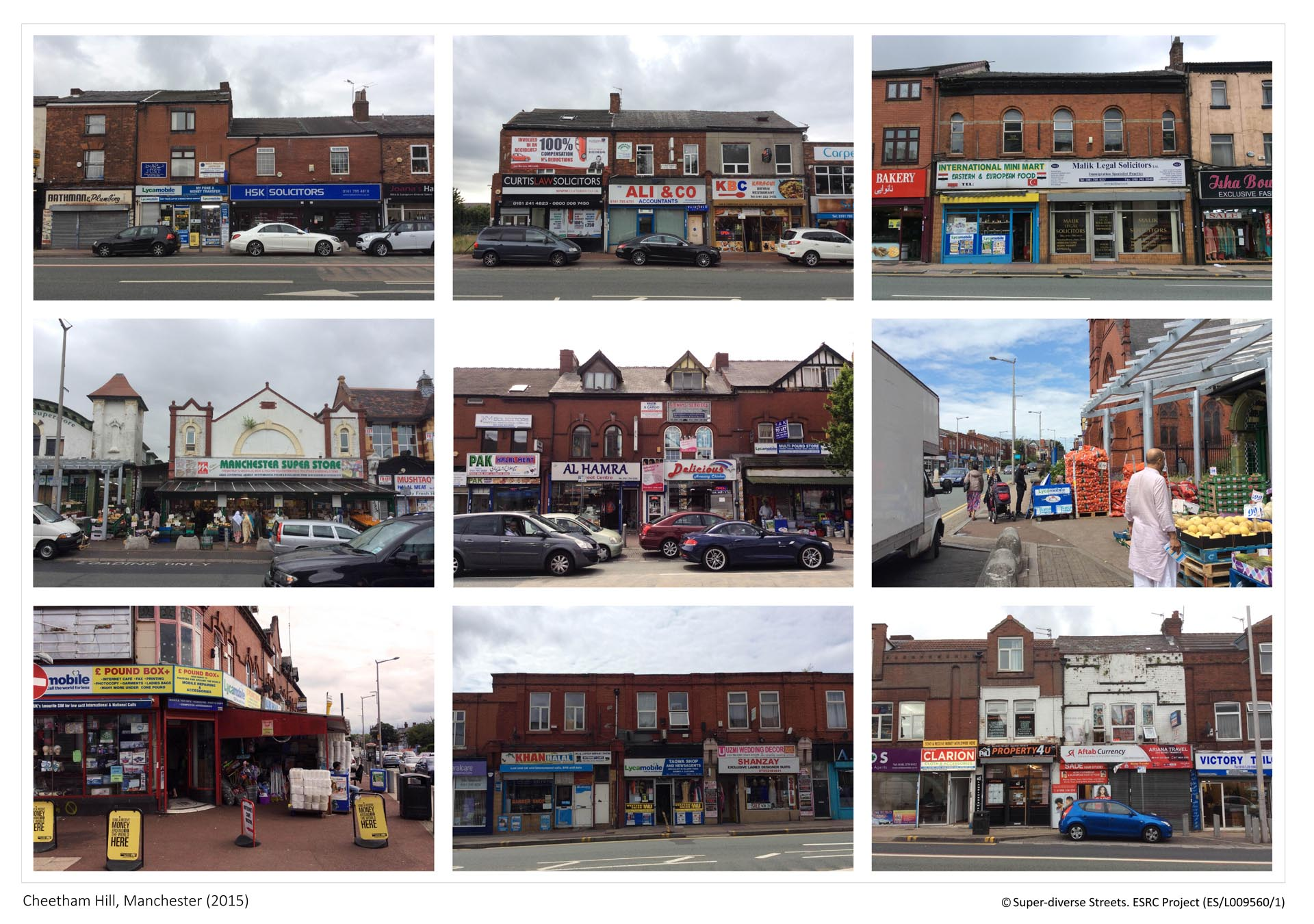 Cheetham Hill, Manchester - Streetscape